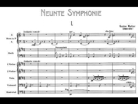 Mahler's 9th Symphony (Audio + Score)