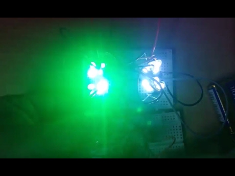 Simple 9 Volt police flash using LEDs and 555 Timer circuit +