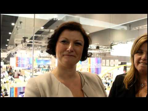 New girls on the block Jacqui Timmins and Sallie Coventry at AIME ...