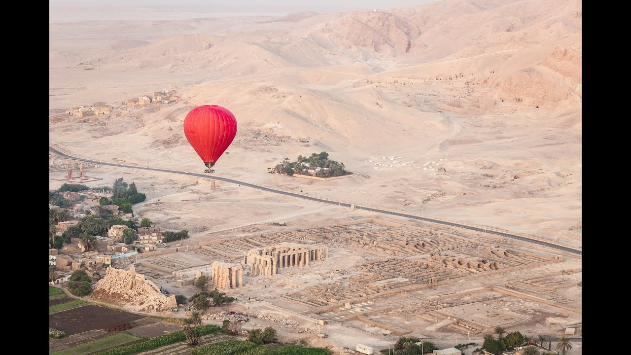 Hot Air Balloon Ride Luxor Egypt