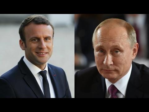"""Visite de Poutine à Paris : """"Il y a beaucoup à faire pour rétablir la confiance"""""""