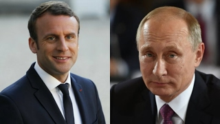 Visite de Poutine à Paris :
