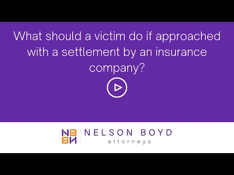 Victim | Settlement from Insurance | Personal Injury Law | Nelson Boyd Attorneys | Seattle, WA