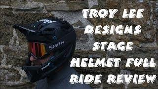 Troy Lee Designs STAGE Helmet *RIDDEN & REVIEWED*