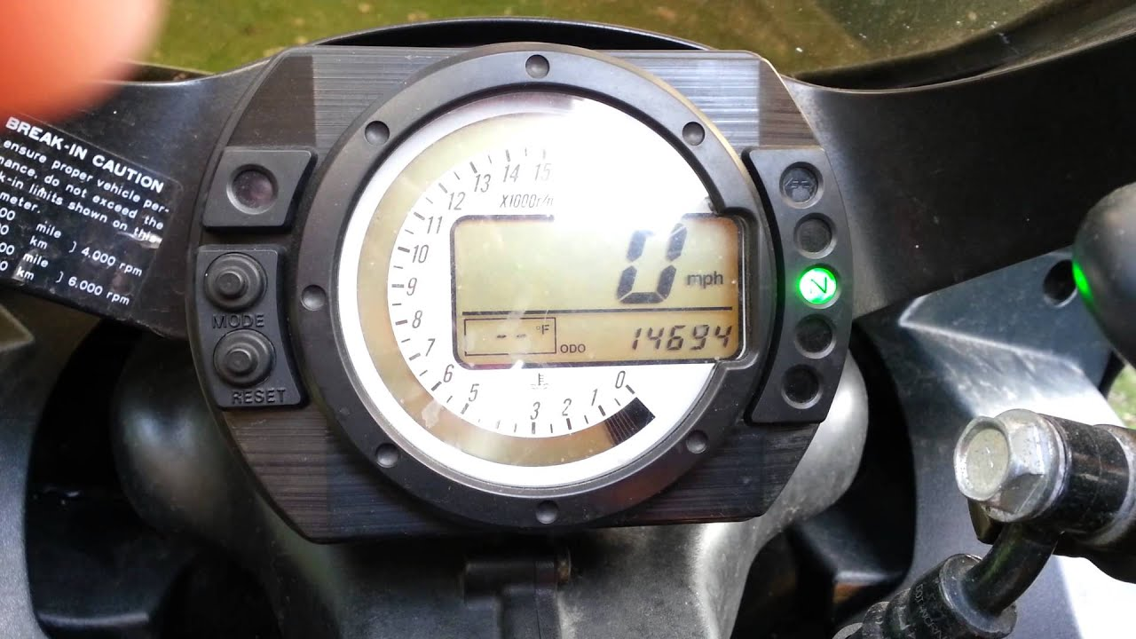 Kawasaki Ninja R Idle Screw