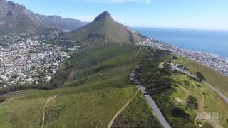 Most Epic Amazing DJI Phantom 4 drone videos - Cape Town - South Africa is beautiful !!