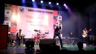 Siddharth Shrivastav Singer at Live concert at Rangsharda Auditorium