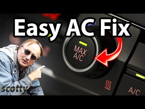 Repair your own car's air conditioner cheaply