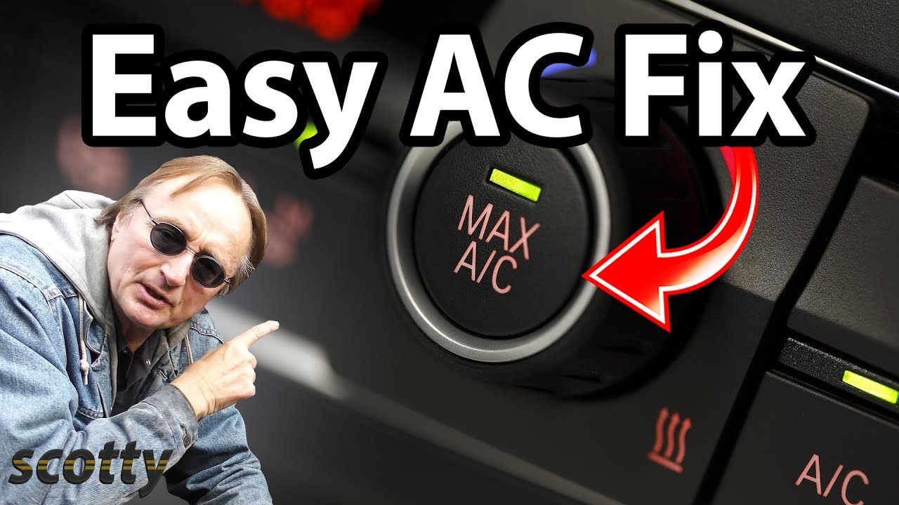 How To Fix Car Ac The Easy Way Youtube Basic Electrical Garage Panel Wiring Free Download Diagram