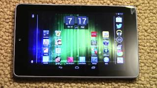 Nexus 7 Update 4.1.2 - Landscape Mode