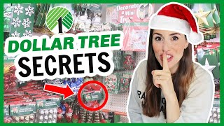 2020 DOLLAR TREE CHRISTMAS SECRETS YOU NEED TO KNOW 🎄  Best Finds, Hacks, and Tips