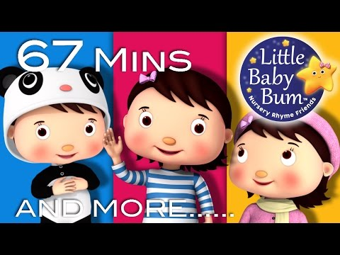 Nursery Rhyme Friends: Mia! | Plus More Children's Songs | 67 Mins Compilation from LittleBabyBum!