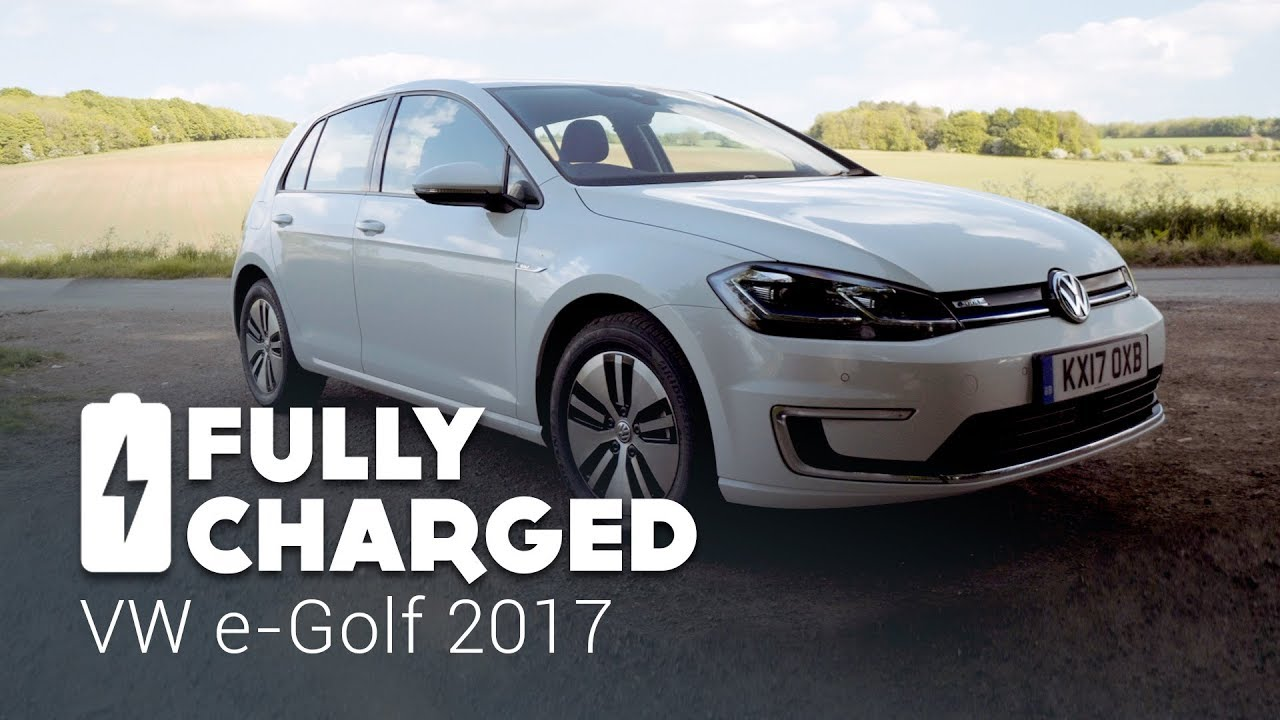 Vw E Golf 2017 Fully Charged Youtube