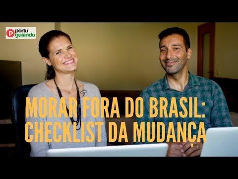 Morar fora do Brasil - preparamos o checklist da sua mudança (2018)