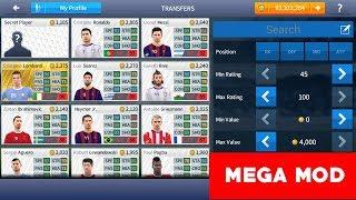 DREAM LEAGUE SOCCER 17 MEGA MOD V 4.16 Unlocked All Players [ FREE TRANSFER ]