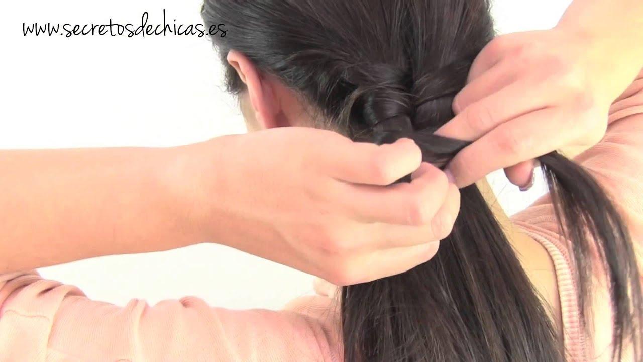 Peinados f 225 ciles del d 237 a coletas con trenzas youtube