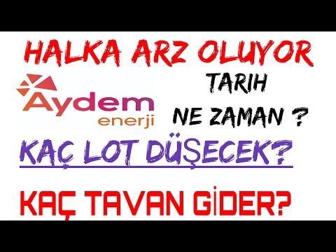 #Aydem Enerji #Halka #Arz/(Kaç Tavan Yapar)/Kaç Lot Düşecek?