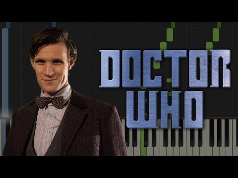 DOCTOR WHO THEME TUNE - Easy Piano Tutorial [Synthesia]