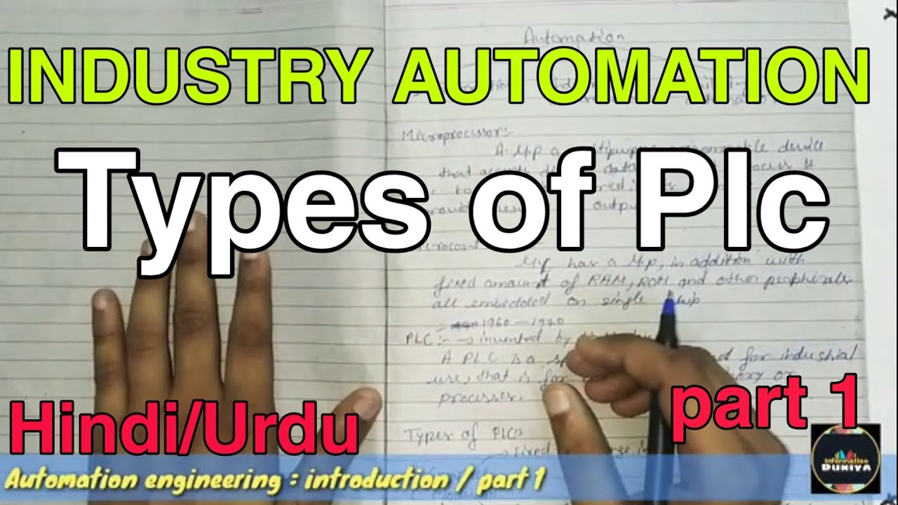 industrial automation | introduction | part 1 | types of plc | information  duniya