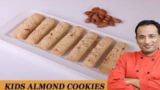 Kids Almonds Cookies
