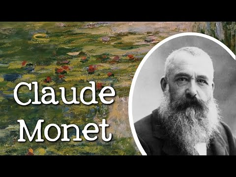 Biography of Claude Monet: Famous Artists for Children - FreeSchool