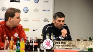 Pressekonferenz KSV Hessen Kassel - TSG Hoffenheim II