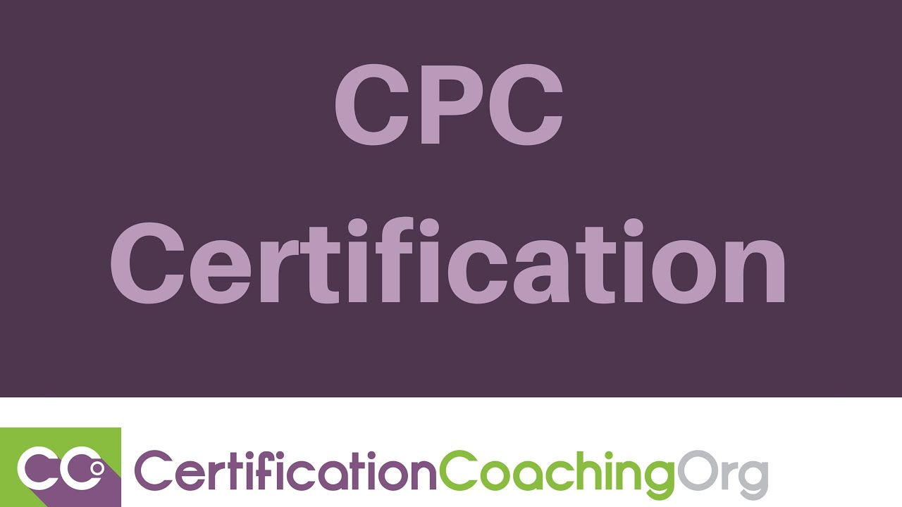Cpc Certification