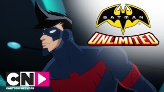 Найтвинг и Красный Робин против Силвербэка | Бэтмен без границ | Cartoon Network