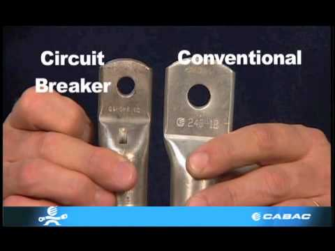 Cabac Features Of A Circuit Breaker Lug Youtube