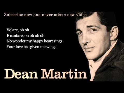 Dean Martin - Volare - Lyrics