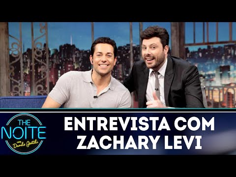 Entrevista com Zachary Levi  The Noite 020419