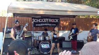Zakk Wylde with School Of Rock Burbank - Crazy Train