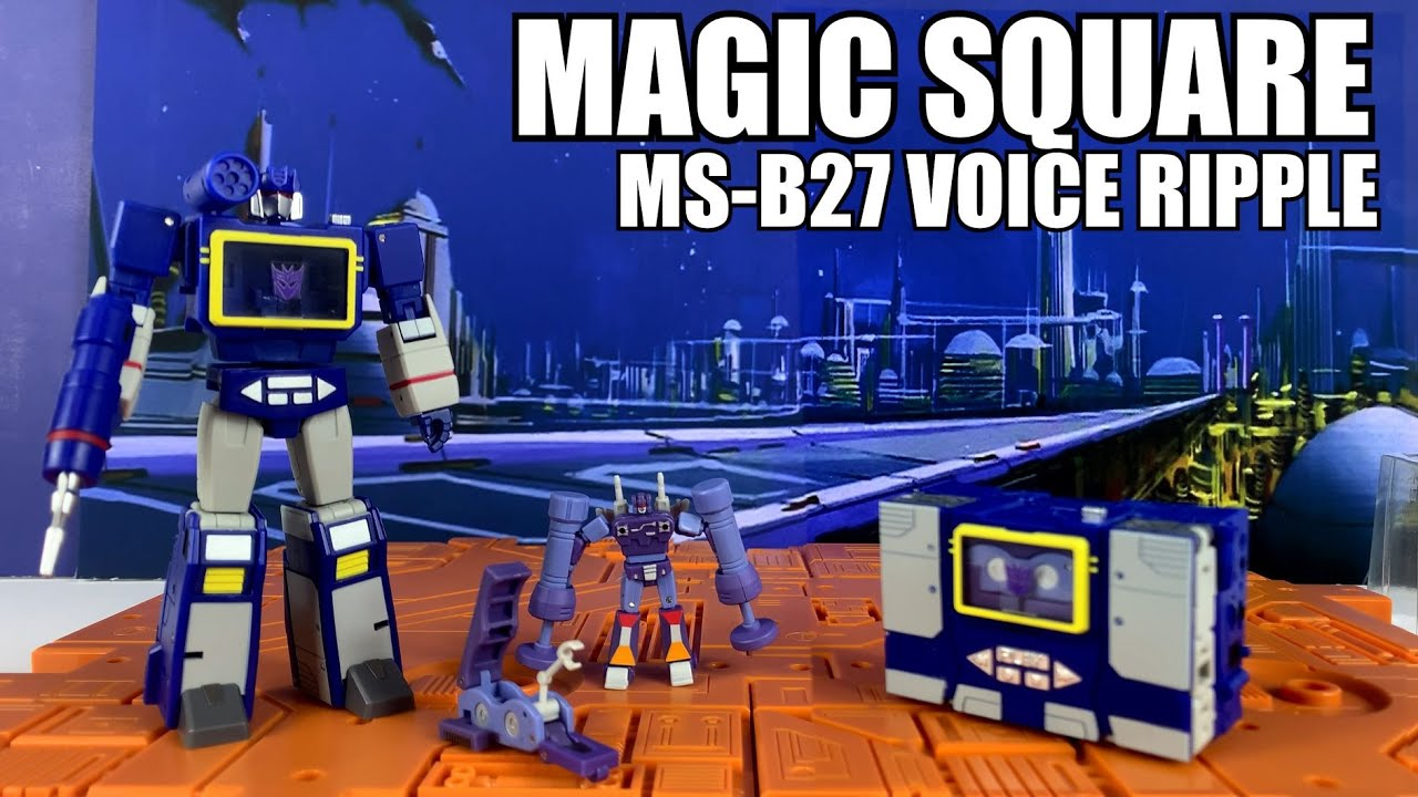 Magic Square MS-B27 Voice Ripple (Legends Soundwave) Unboxing and Review by Enewtabie