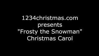 Frosty the Snowman Christmas Carol