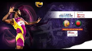 Sri Lanka v Bangladesh – 3rd Place - 1st Asian Men's Volleyball Challenge Cup