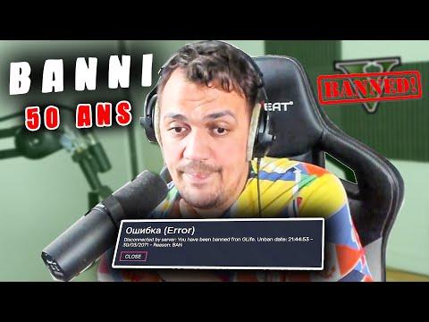 JE SUIS BAN DE GTA POUR 50 ANS