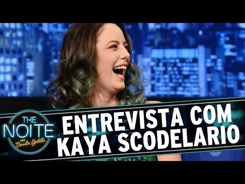 The Noite 180915  Entrevista com Kaya Scodelario