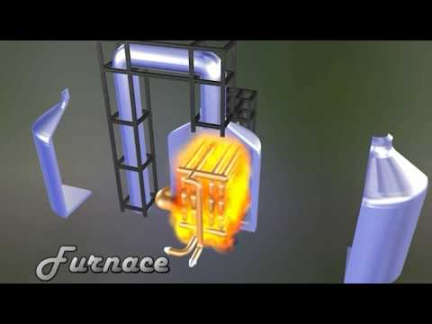 Chemical Engineering Plant (Animation Design)