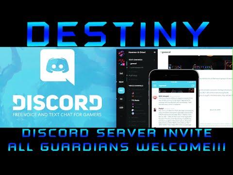 Destiny Discord Server!!! JOIN THE FUN