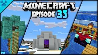 Minecraft Odd Jobs! IGLOO BASE | Pythons World (Minecraft Survival Lets Play S3 1.14) | Episode 35