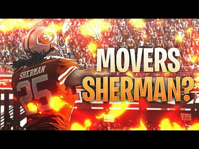 NFL MOVERS COMING SOON? - 99 MASTER RICHARD SHERMAN? - NEW MADDEN PROMO