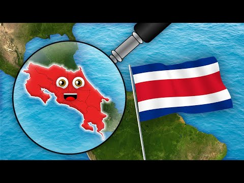 Costa Rica Geography/Costa Rica For Kids