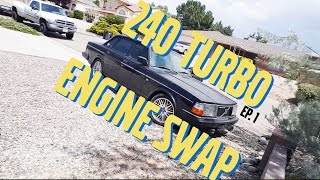 🇸🇪 Volvo 240 Turbo Restoration Episode 1