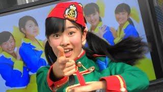SEIKA~追跡! 春の火災予防運動一日消防局長ORI☆姫隊*防火パフォーマ...