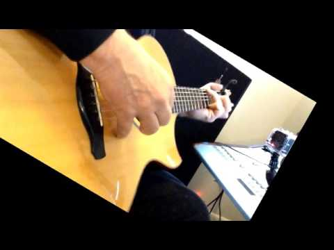 The Left Banke\'s Walk Away Renee on solo acoustic guitar - YouTube
