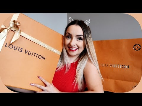 MY FIRST EVER LOUIS VUITTON BAG!!!!