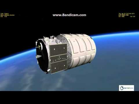 Cygnus CRS Orb-1 Resupply Mission for ISS