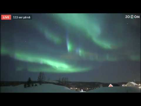 Live aurora webcam in norway