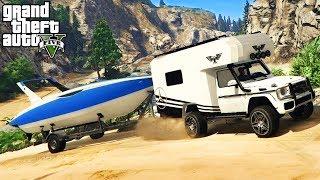 Wir gehen Campen mit unserer Freundin ! - GTA 5 Real Life MOD