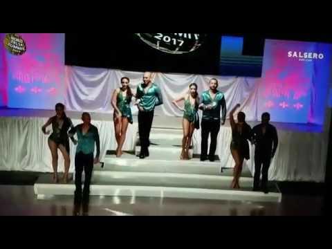 Essence Dance Academy en Miami Salsa Summit 2017 grupo Amateur